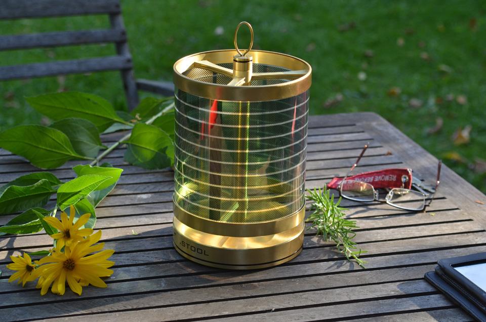Tischleuchte Messing +sol kompakt