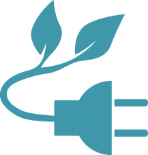 pictogramm grüner Strom